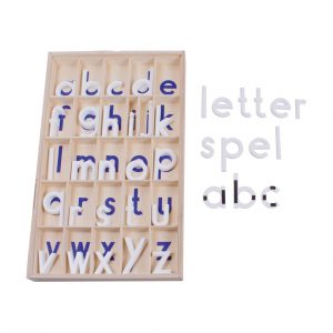 Magnetic Letter game