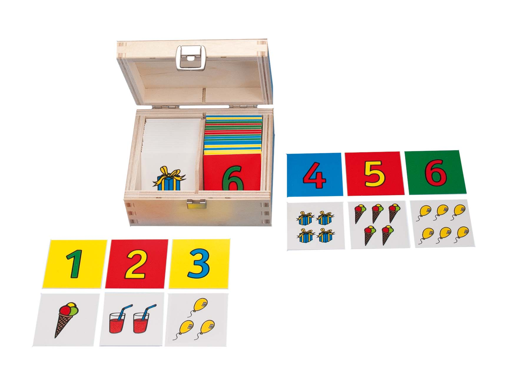 Counting memory game