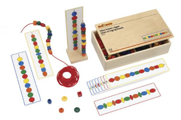 Stringing Beads Card Stand