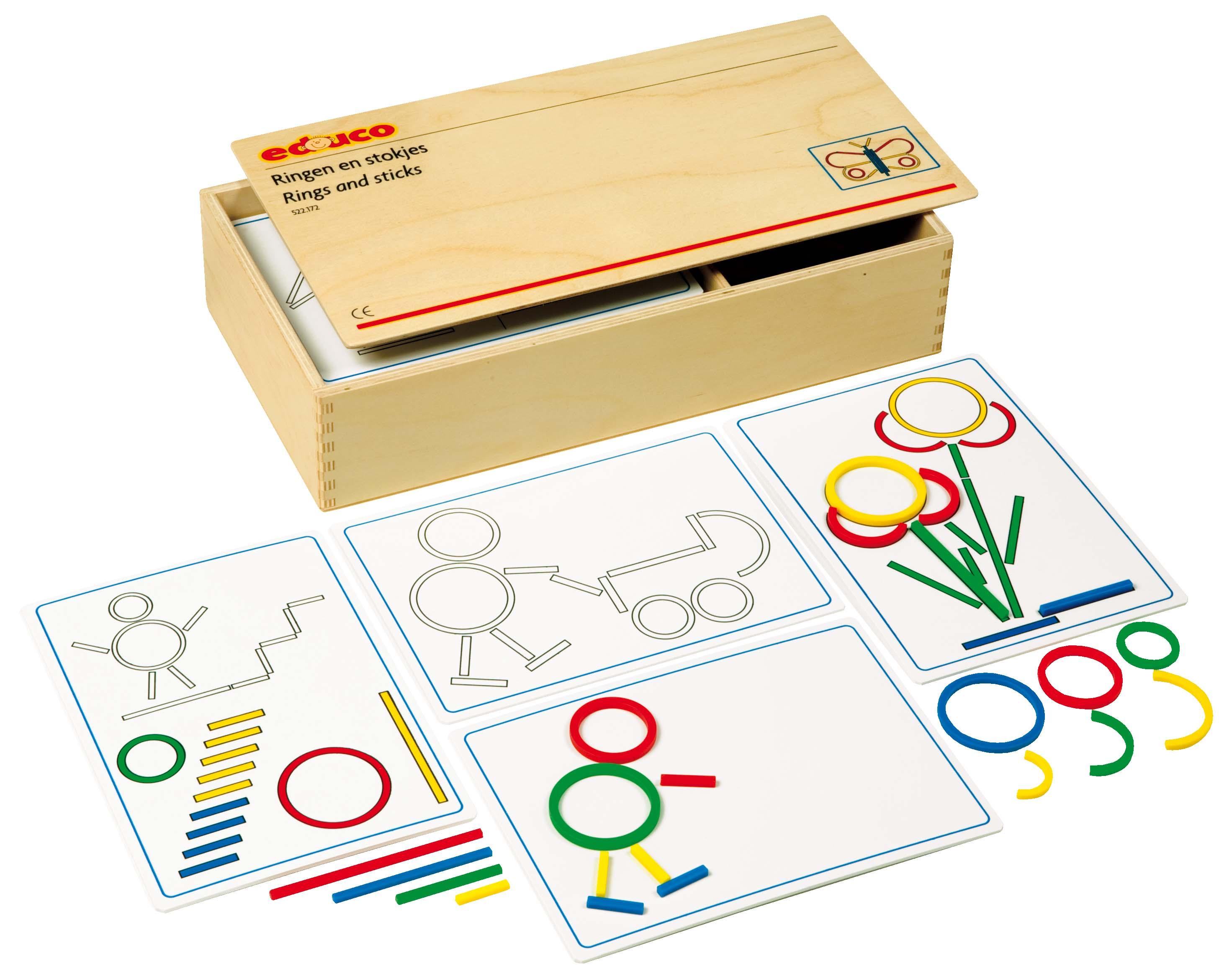 Rings & Sticks game