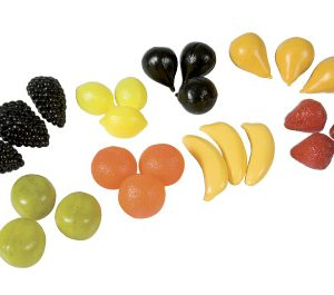 Plastic fruit set
