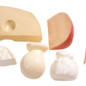 Plastic cheese set