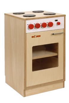 Wooden kitchen cooker