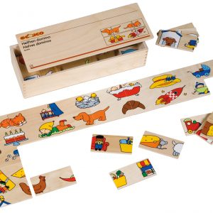 Picture domino set