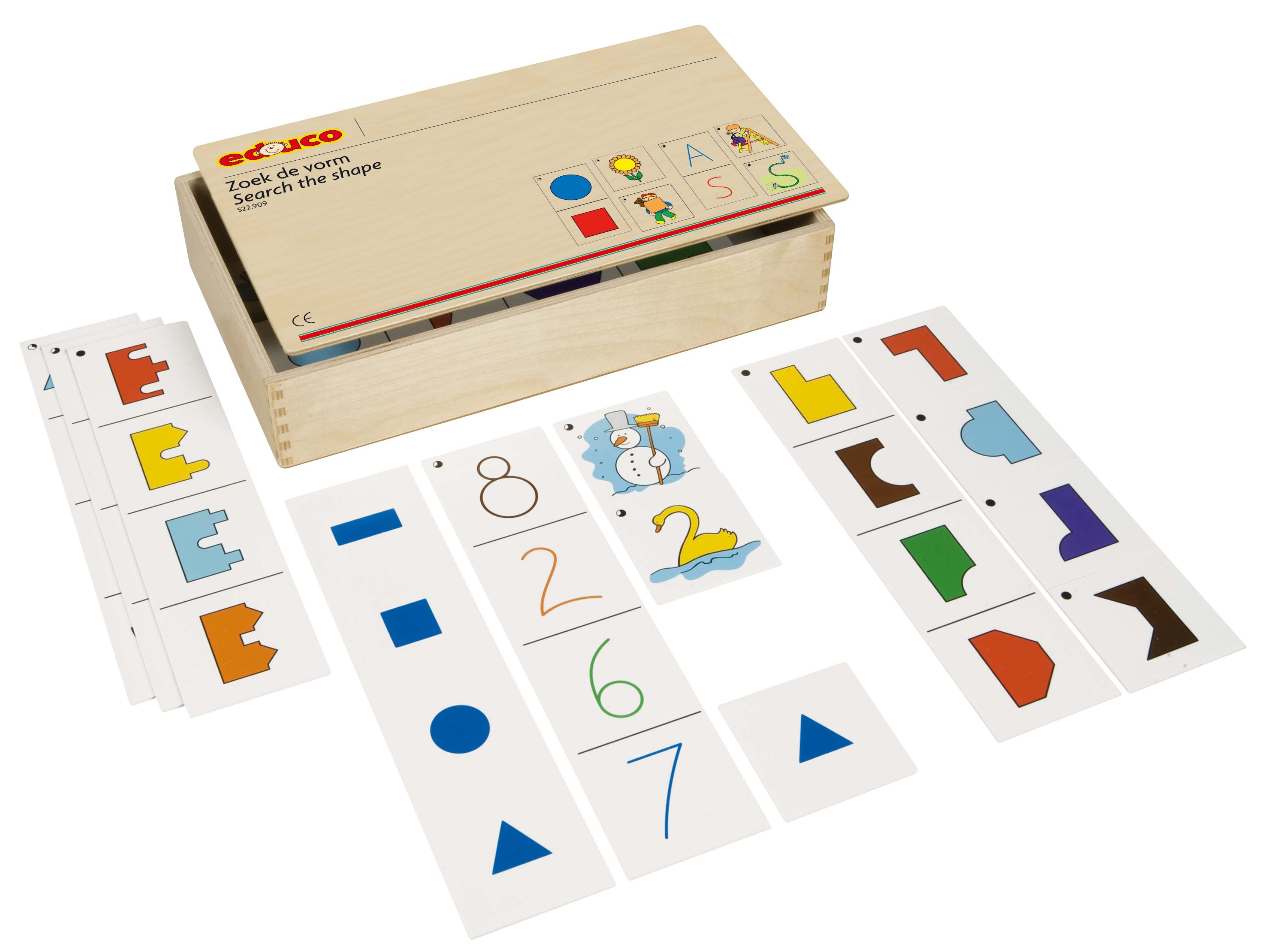 Shape recognition game