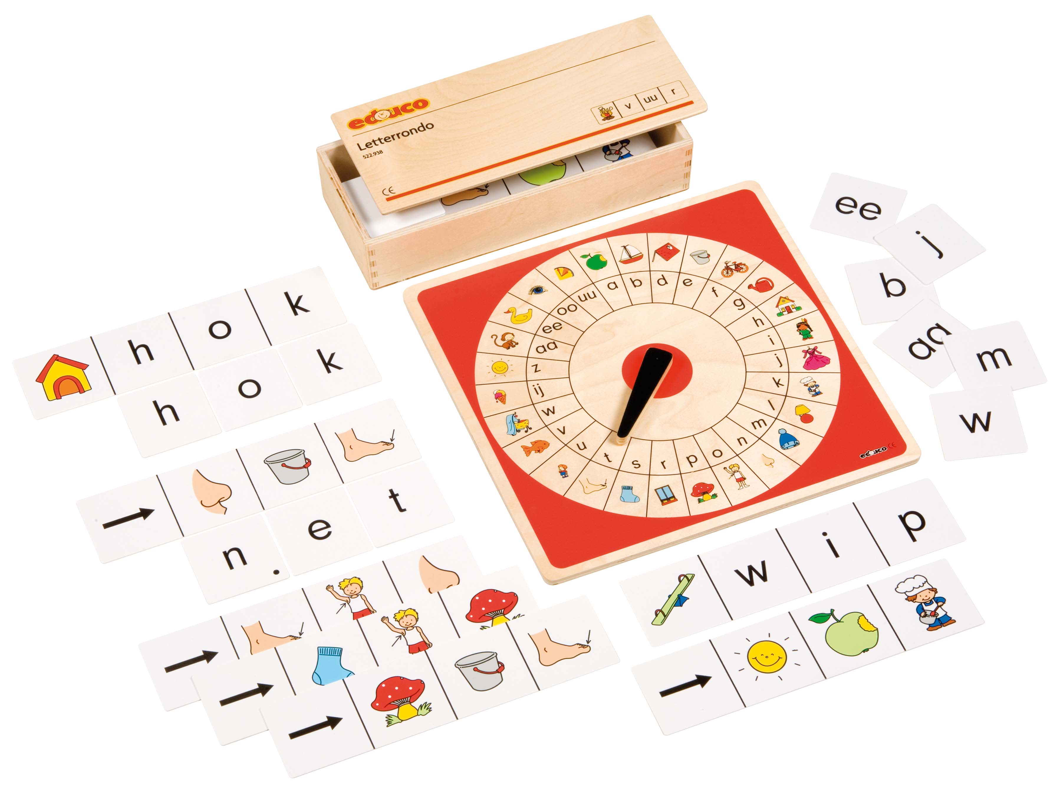 Letters & words game
