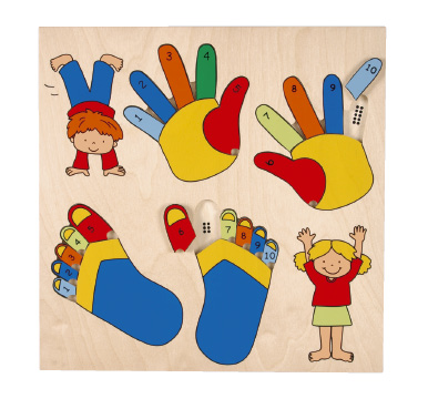 Puzzle fingers & toes