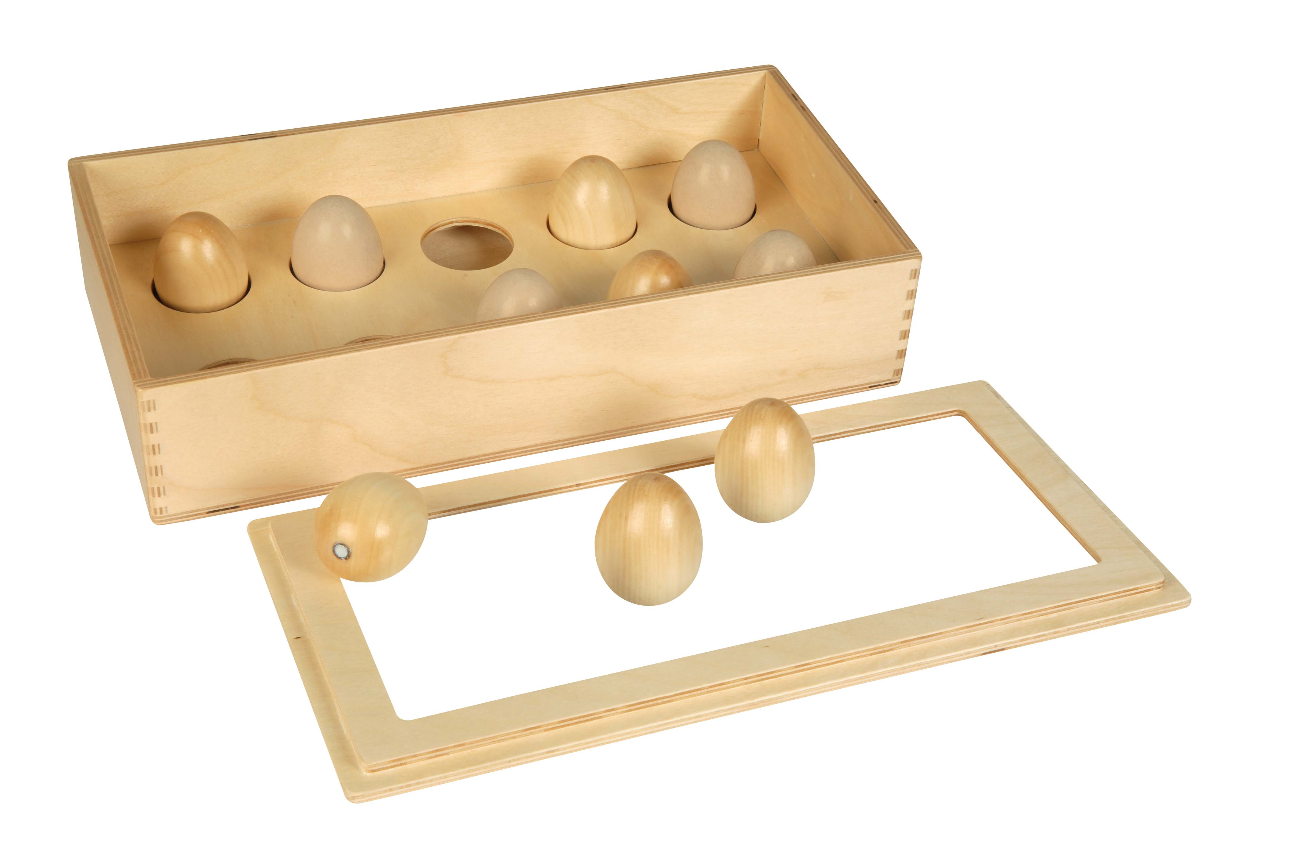 Wooden Counting eggs