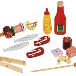 Plastic Barbeque set