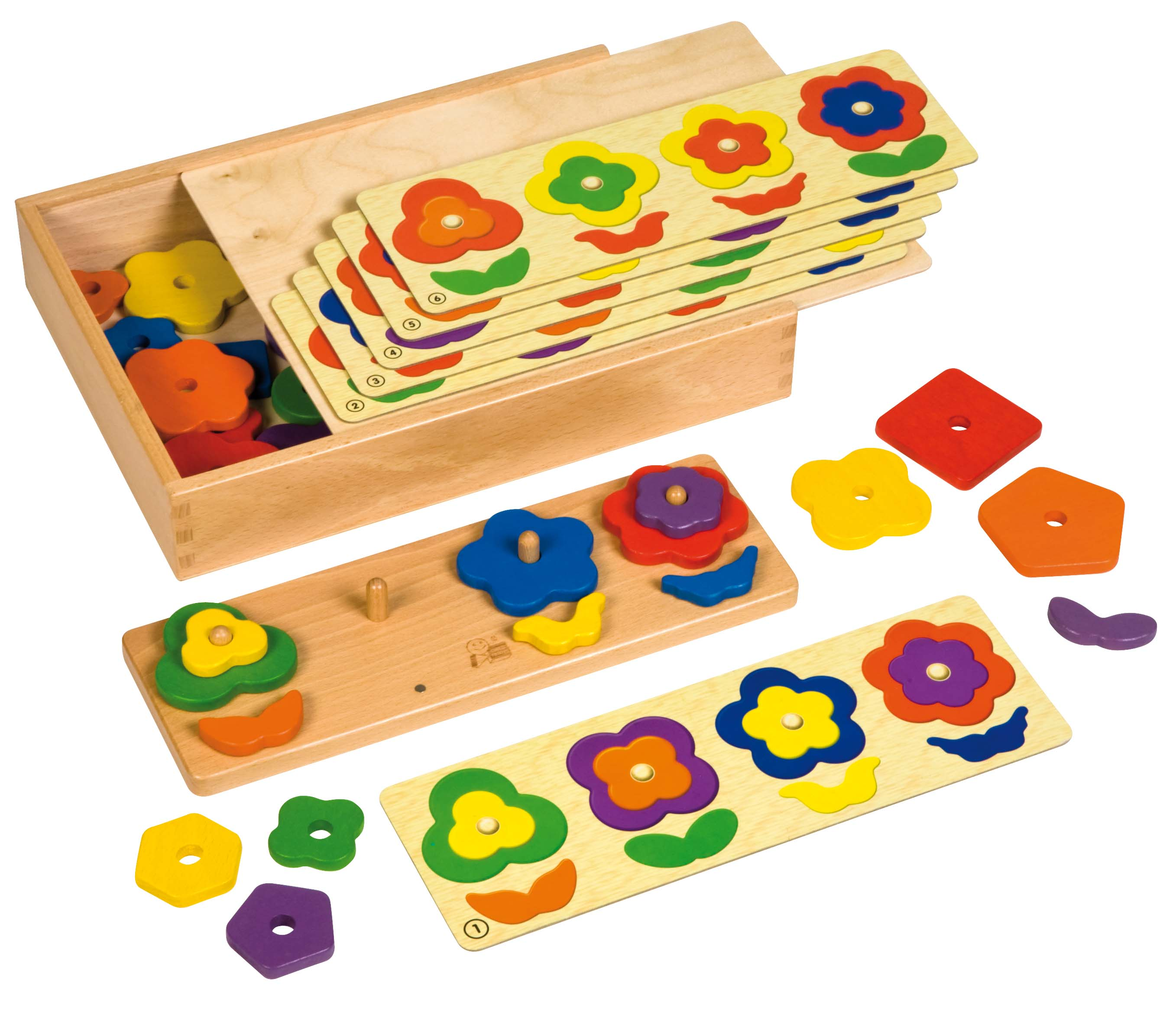 Shapes & Colours pattern game