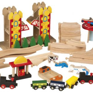 Wooden Railway expansion airport and harbour