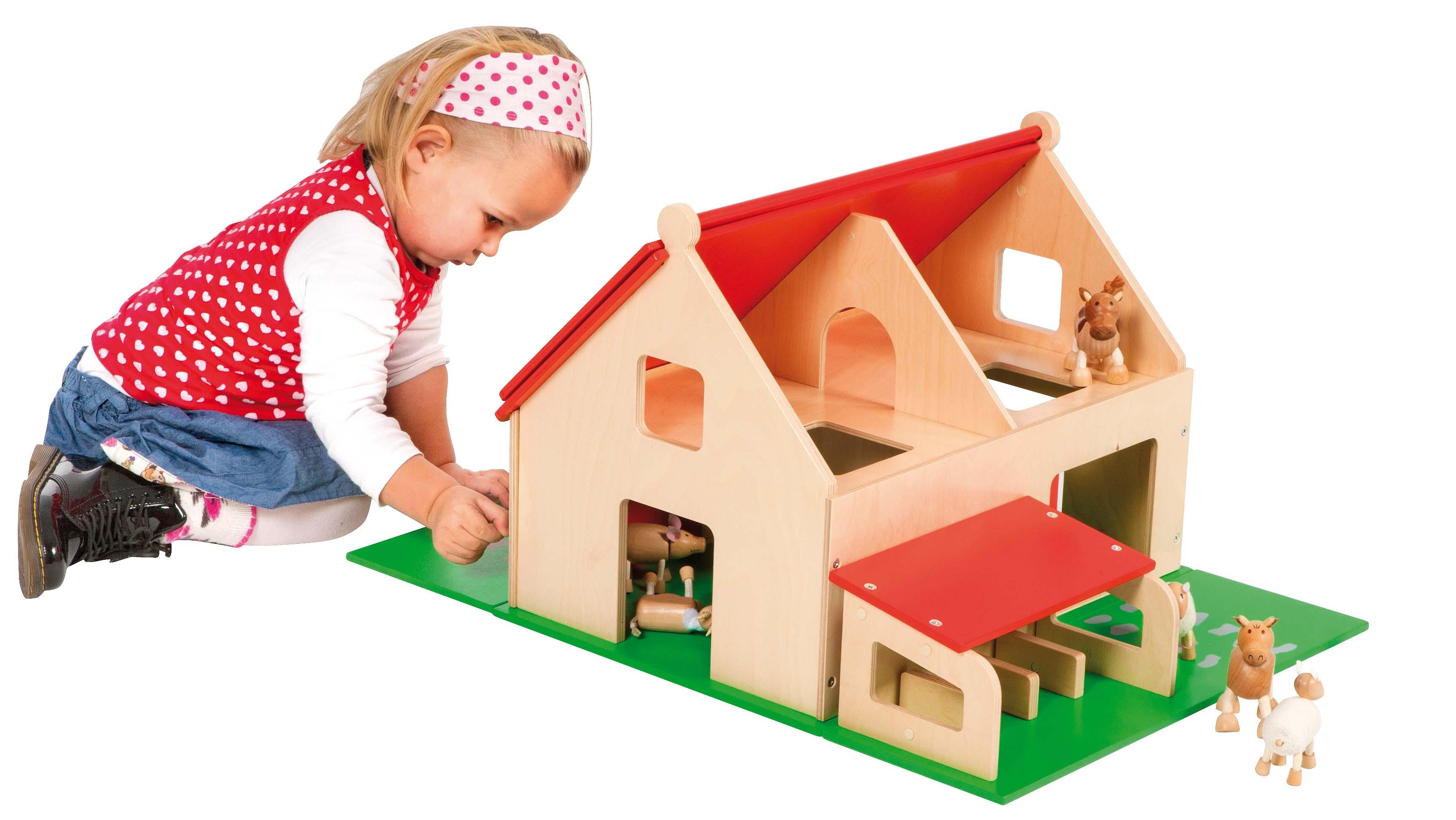 Wooden Farmhouse