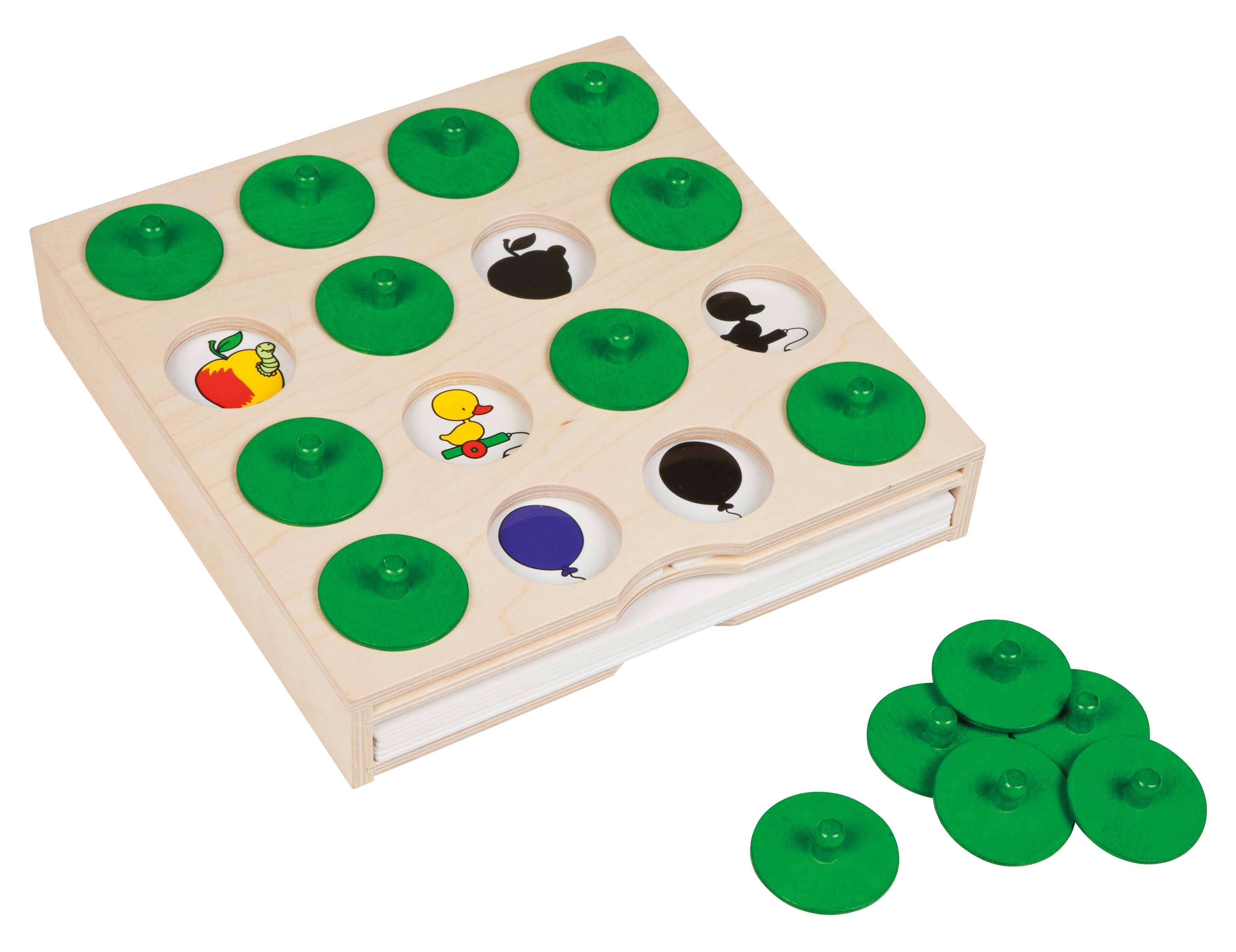 Search and find memory game