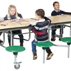 8 seat folding table