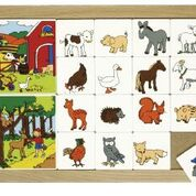 Sorting story- woodland farmland animals