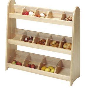 Wooden Shop Shelves