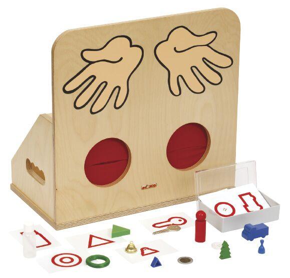 Object feeling box