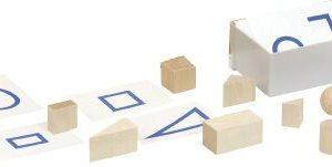 Object feeling box materials