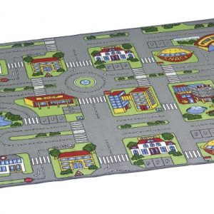 Traffic play mat city