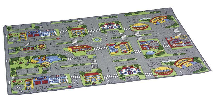 Traffic play mat city
