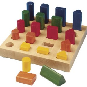 Shape sorting game