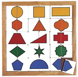 Sorting Shapes Puzzle
