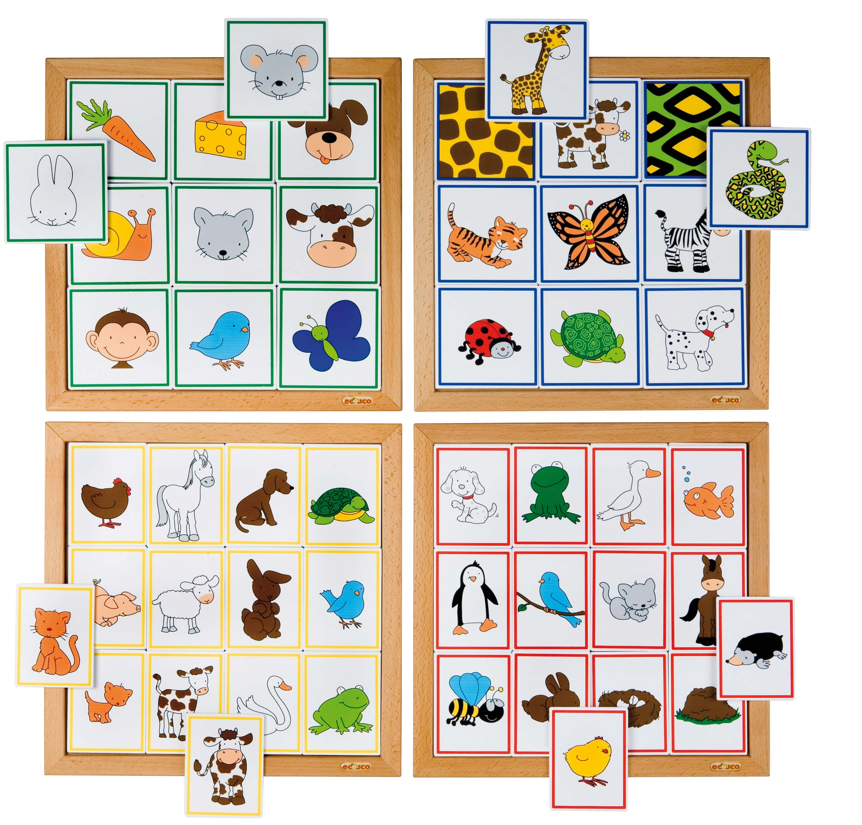 Sorting Game Animals and their Food