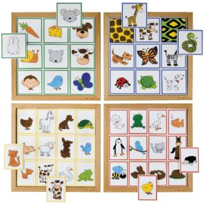Sorting game animals & their coat