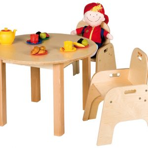 Children's wooden chair