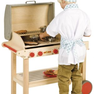 Wooden Barbeque
