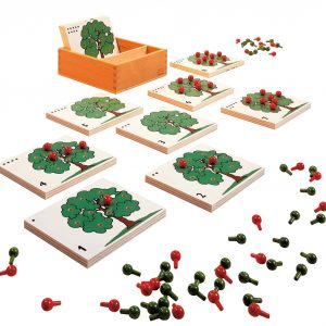 Apple tree counting game