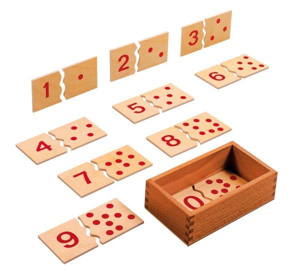 Number puzzle 1-10